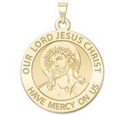 Our Lord Jesus Christ Religious Medal  EXCLUSIVE