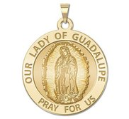 Our Lady of Guadalupe Religious Medal   EXCLUSIVE