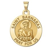Saint Barnabas Religious Medal  EXCLUSIVE