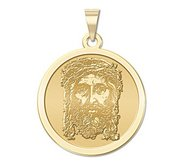 Holy Face of Jesus Religious Medal   EXCLUSIVE