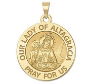 Our Lady of the Altagracia Religious Medal   EXCLUSIVE