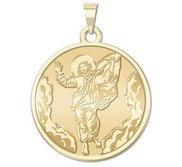 Ascension of Jesus Round Religious Medal  EXCLUSIVE