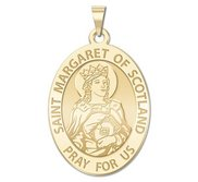 Saint Margaret of Scotland   Oval  EXCLUSIVE