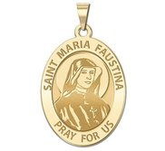 Saint Faustina Religious Medal  EXCLUSIVE