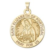 Saint Elizabeth of Portugal Religious Medal  EXCLUSIVE