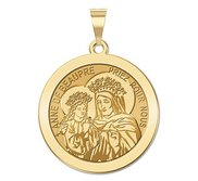 Saint Anne De BeauPre Religious Medal  EXCLUSIVE