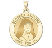 Blessed Adeline Round Religious Medal    EXCLUSIVE