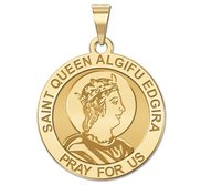 Saint Queen Algifu Edgira Religious Medal    EXCLUSIVE