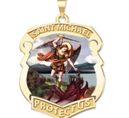 Saint Michael Badge  EXCLUSIVE