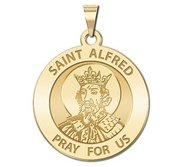 Saint Alfred Religious Medal  EXCLUSIVE