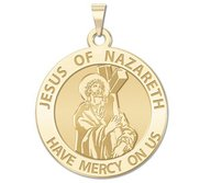 Jesus of Nazareth Religious Medal  EXCLUSIVE