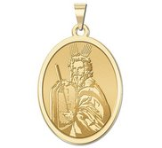 Moses OVAL Religious Medal   EXCLUSIVE