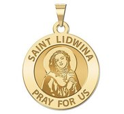 Saint Lidwina Religious Medal  EXCLUSIVE