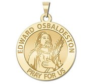 Edward Osbaldeston Round Religious Medal  EXCLUSIVE