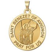 Saint Benezet of Avignon Religious Medal  EXCLUSIVE