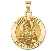 Saint Gall Religious Medal    EXCLUSIVE