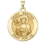 Saint Bertha Religious Medal   EXCLUSIVE