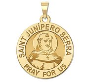 Saint Junipero Serra Religious Medal  EXCLUSIVE