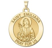 Saint Emiliana Religious Medal   EXCLUSIVE