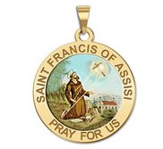 Saint Francis of Assisi Religious Medal