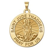 Saint Jude Religious Medal  Full Figure    EXCLUSIVE