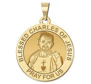 Blessed Charles of Jesus Religious Medal    EXCLUSIVE