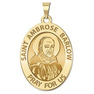 Saint Ambrose Barlow Religious Medal  EXCLUSIVE