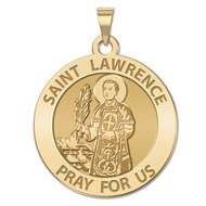 Saint Lawrence Religious Medal   EXCLUSIVE