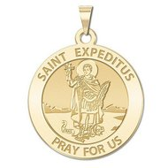 Saint Expeditus Religious Medal   EXCLUSIVE