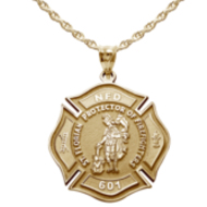 Firefighter St Florian Patron Saint Of Firefighters Medals
