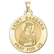 Saint Barbara Religious Medal  EXCLUSIVE