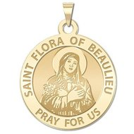 Saint Flora of Beaulieu Religious Medal   EXCLUSIVE