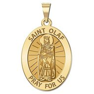 Saint Olaf of Norway Religious Medal     EXCLUSIVE