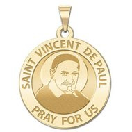 Saint Vincent De Paul Religious Medal  EXCLUSIVE