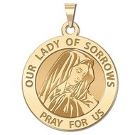 Our Lady of Sorrows Religious Medal  EXCLUSIVE