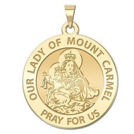 Our Lady of Mount Carmel Religious Medal   EXCLUSIVE