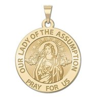 Our Lady of the Assumption Religious Medal   EXCLUSIVE