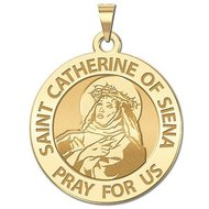 Saint Catherine of Siena Religious Medal    EXCLUSIVE