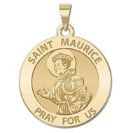 Saint Maurice Religious Medal  EXCLUSIVE