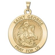 Saint George Religious Medal  EXCLUSIVE