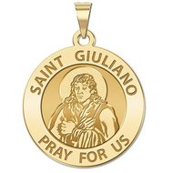 Saint Giuliano Religious Medal   EXCLUSIVE