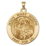 Jesus Mary Joseph Religious Medal  EXCLUSIVE