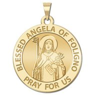 Blessed Angela of Foligno Religious Medal  EXCLUSIVE