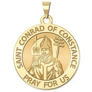 Saint Conrad of Constance Religious Medal    EXCLUSIVE