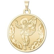 Ascension of Jesus Religious Medal  EXCLUSIVE