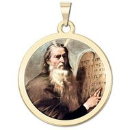 Moses Religious Medal   Color EXCLUSIVE