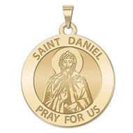 Saint Daniel the Stylite Religious Medal  EXCLUSIVE
