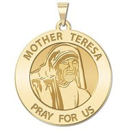 Mother Theresa Religious Medal  EXCLUSIVE