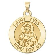 Saint Yves Religious Medal   EXCLUSIVE