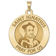Saint Ignatius of Loyola Religious Medal   EXCLUSIVE